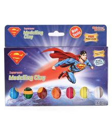 DC Superman Modelling Clay with Mold - 100 gm