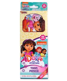 Dora Printed Pencils Set of 20 - Multicolor