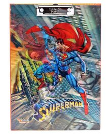 Dc Comics Superman 3D Exam Board - Multicolor