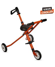 NHR Vaux Stroller with Parent Push Handle - Orange