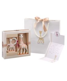 Sophiesticated Composition 1 - Gift set including Sophie la girafe & Teething Ring