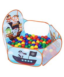 Playhood Zoo Ball Pool with 50 Colorful Balls - Multicolor