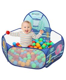Playhood Sea Ball Pool with 50 Colorful Balls - Multicolor