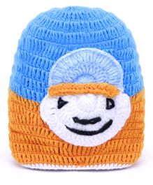 MayRa Knits Cartoon Design Cap - Brown
