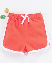 Kookie Kids Solid Color Shorts - Orange