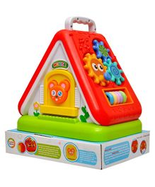 Toyshine Funny House with Multi-Purpose Learning - Multicolor