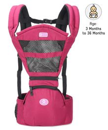 Baby Carrier with Safety Harness - Maroon