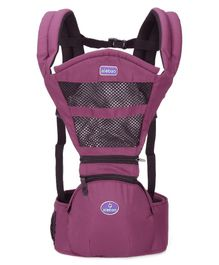 Baby Hipseat Carrier with 5 Carry Positions - Purple