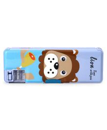 Magnetic Dual Sided Pencil Box - Blue