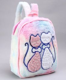 School Bag Kitty Patch Pink - 12 Inches