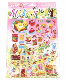 Candy Shape Wall Stickers Multicolor - 65 Pieces