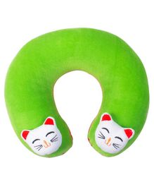 Ole Baby Horseshoe Shape Neck Pillow - Green