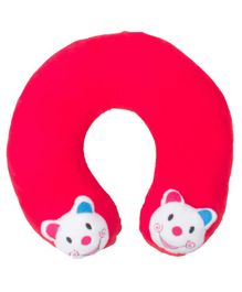 Ole Baby Horseshoe Shape Neck Pillow - Red