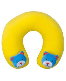 Ole Baby Horseshoe Shape Neck Pillow - Yellow