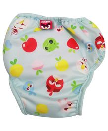 Angry Birds Reusable Cloth Diaper Extra Large - Blue