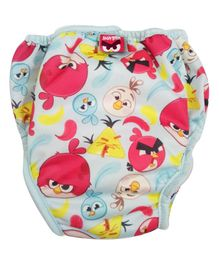 Angry Birds Reusable Cloth Diaper Large - Blue