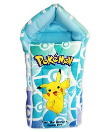 Pokemon Sleeping Bag - Sea Green Blue