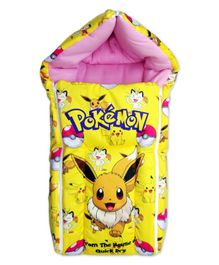 Pokemon Sleeping Bag - Yellow