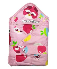 Angry Birds Hooded Wrapper - Pink