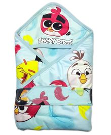Angry Birds Hooded Wrapper - Black White