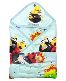 Angry Birds Hooded Wrapper - Green