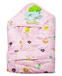 Pokemon Hooded Wrapper - Pink