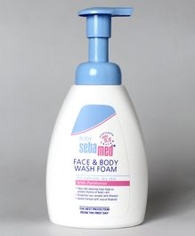 Sebamed Face & Body Foam Wash White - 400 ml