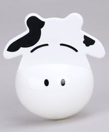 Cow Shape Toothbrush Holder - White