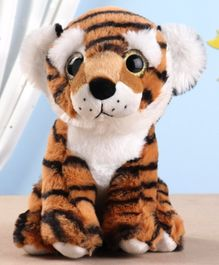 Starwalk Sitting Tiger Plush Toy Brown - Height 23 cm