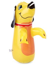 Suzi Hit Me Puppy Mini Toy Yellow - Height 35 cm