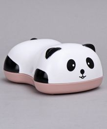 Panda Shape Soap Case - White Pink