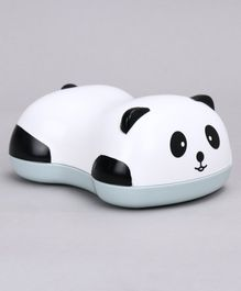 Panda Shape Soap Case - White Blue