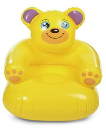 Suzi Teddy Bear Senior Balloon Chair Yellow - Height 74 cm