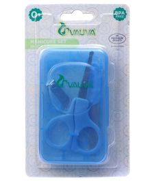 Vauva Manicure Set in Case - (Color May Vary )