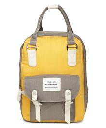 Kids On Board Quote Patch Backpack - Red