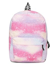 Kids On Board Starry Sky Backpack - Pink