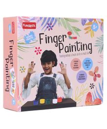 Funskool Finger Painting Kit - Multicolor