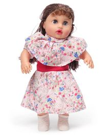 Speedage Nikki Deluxe Doll Red - Height 43.5 cm
