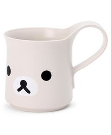 Mug with Handle Puppy Face Cream - 350 ml