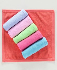 Zero Wash Cloths Pack of 6 - Multicolour