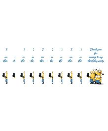 Funcart Minions Thank You Card Yellow - Pack of 10