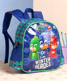 PJ Mask School Bag Blue - 10 Inches