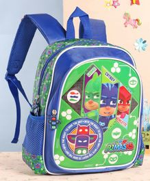 PJ Masks School Bag Blue - 12 Inches