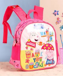Peppa Pig School Bag Pink - 10 Inches