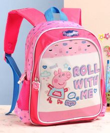Peppa Pig School Bag Pink - 12 Inches