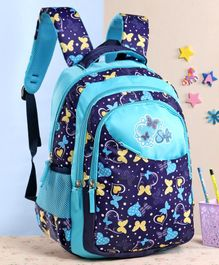 Steffi Love Rising Sparkle School Bag Blue - Height 17 Inches