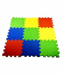 Ultimate Waterproof Play Mat Multicolor - 9 Pieces