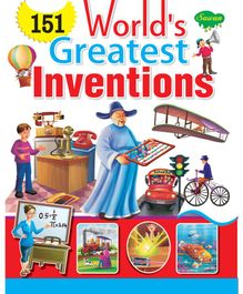 Sawan 151 World's Greatest Inventions Story Book - English
