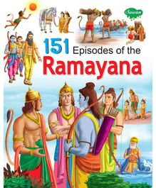 Sawan 151 Episodes of The Ramayana Story Book - English