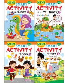 Sawan Mini Smart Activity Book Pack of 4 - English